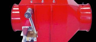NOREX explosion isolation valve